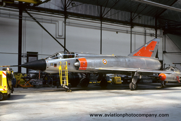 The Aviation Photo Company: Latest Additions &emdash; French Air Force CEV Dassault Mirage 3A 1 (1982)