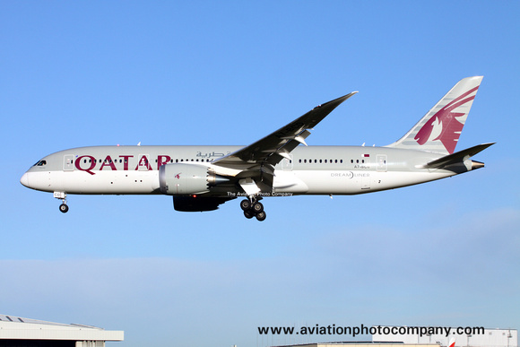 Qatar Airways Boeing 787-8 A7-BCD at London Heathrow (2013)