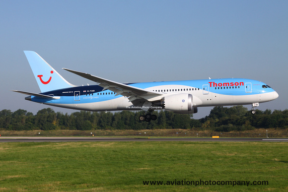 Thomson Boeing 787-8 G-TUID at Manchester (2013)