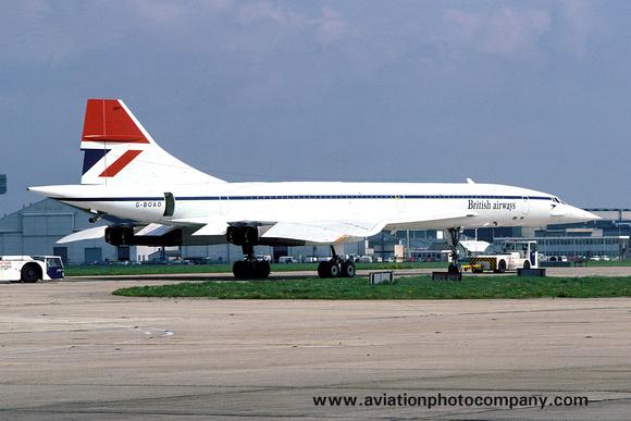 The Aviation Photo Company: Latest Additions &emdash; British Airways BAC Concorde G-BOAD at Heathrow (1977)