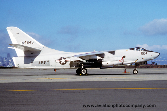 The Aviation Photo Company: A-3 Skywarrior (Douglas) &emdash; US Army Douglas RA-3B Skywarrior 144843 (1989)