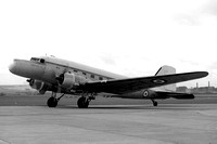RAE Douglas C-47 Dakota TS423 with Mayfly radar nose (1971)