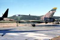 USAF Georgia ANG North American F-100D Super Sabre 56-2917 at MASDC Davis Monthan (1979)