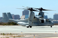 USMC VMM-166 Bell-Boeing MV-22B 168290/YX-15 at the MCAS Miramar Airshow (2014)