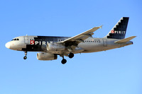 Spirit Airbus A319-100 N507NK at Los Angeles IAP (2014)
