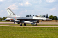 Dutch Air Force 323 Squadron GD F-16AM J-193 at the Neuberg Open Day (2013)