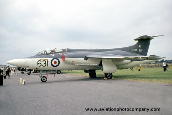 The Aviation Photo Company: Buccaneer (Blackburn) &emdash; Royal Navy 736 Squadron Blackburn Buccaneer S.1 XN934/LM631 (1969)