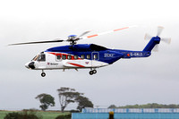 Bristow Sikorsky S-92 G-CALC at Prestwick (2013)