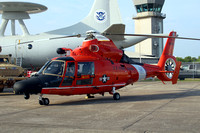 US Coast Guard Corpus Christi Aerospatiale MH-65D Dolphin CG6554  at the NAS Kingsville Airshow (2016)