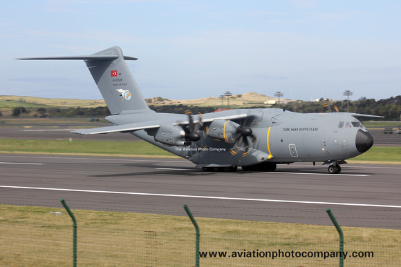 The Aviation Photo Company: Latest Additions &emdash; Turkish Air Force 221 Filo Airbus A400M 14-0028 at Lajes (2016)
