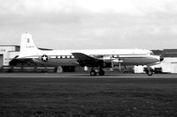 USAF Douglas VC-118A Liftmaster 53-3278 at Prestwick