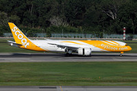 Scoot Boeing 787-9 9V-OJD at Singapore IAP (2016)
