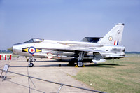 RAF 11 Squadron English Electric Lightning F.6 XS931/G (1968)