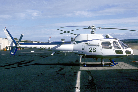 Royal Australian Navy Aerospatiale AS.350 Squirrel N22-016 (1984)