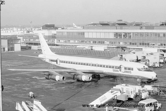 The Aviation Photo Company: Latest Additions &emdash; Ghana Airways Douglas DC-8-32 9G-ACG