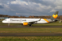 Thomas Cook Airbus A321-200 G-TCDO at Prestwick (2016)
