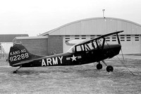 US Army Kansas National Guard Cessna O-1A Bird Dog 51-12288
