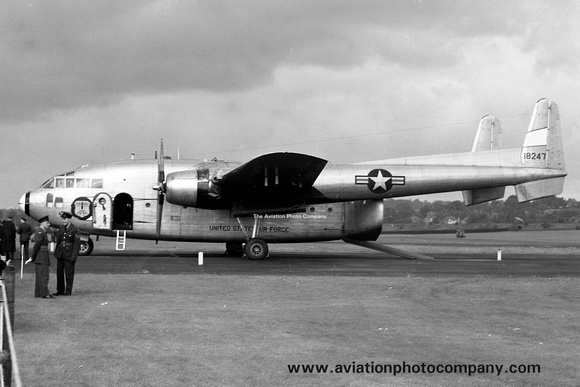The Aviation Photo Company   C-119 Flying Boxcar (Fairchild)   USAF 47 ...