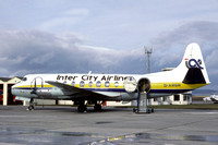 Inter City Airlines Vickers Viscount G-ARGR (1982)