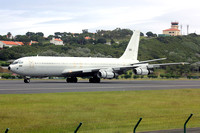 Israeli Air Force Boeing KC-707 260 at Lajes (2015)