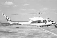 Mexican Air Force Presidential Flight Bell 212 FAM-TPH-02 (1972)