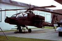 US Army Hughes YAH-64A Apache 73-22249 at the Fort Rucker Museum (1985)