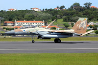 Israeli Air Force 69 Squadron McDonnell Douglas F-15I 220 at Lajes (2015)