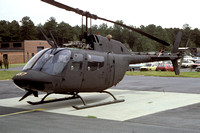 US Army Georgia National Guard 265th Engineering Group Bell OH-58A Kiowa 72-21457 (1985)