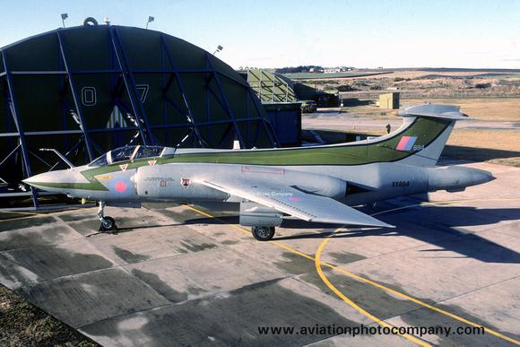 The Aviation Photo Company: Buccaneer (Blackburn) &emdash; RAF 12 Squadron Blackburn Buccaneer S.2 XX894 at RAF Lossiemouth (1990)