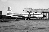 BOAC Bristol Britannia G-ANBO at London Heathrow