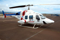 Bell 222 N622F at Kahului (2015)