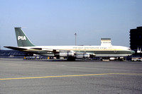 PIA Pakistan International Cargo Boeing 707-300C AP-AWY (1981)
