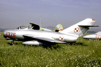Polish Air Force Mikoyan MiG-15 1326 at Graz (1986)