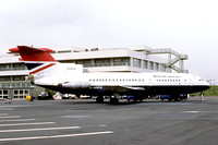 British Airways De Havilland Trident G-ARPX at Newcastle Woolsington (1978)
