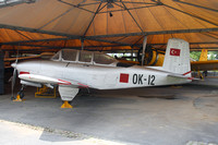 Turkish Air Force Beech T-34A Mentor 54-5212 at the Askeri Museum (2015)