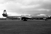 Dan Air London De Havilland Comet 4 G-APYD (1976)