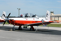 US Navy TAW-5 Beechcraft T-6B 166142/E-142 at NAS Whiting Field (2013)