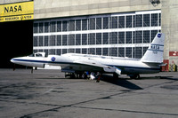 NASA Earth Survey Lockheed U-2 NASA-709 at Moffett Field Ames Research Centre (1977)