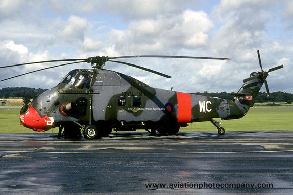 The Aviation Photo Company: Latest Additions &emdash; RAF 2 FTS Westland Wessex HC.2 XR519/WC (1981)