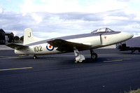 Royal Navy Fleet Air Arm Museum Supermarine Attacker F.1 WA473 (1993)
