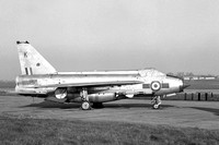 RAF 5 Squadron English Electric Lightning F.6 XS898/K with Maltese cross marks (1968)