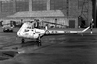 RAF CFS Saro Skeeter AOP.12 XM564/X at RAF Little Rissington