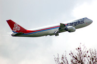 Cargolux Boeing 747-8F LX-VCA at East Midlands (2014)