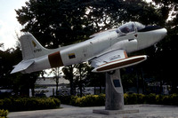 Venezuelan Air Force Hunting Jet Provost 52 6780 Preserved at the Maracay Museum (1990)