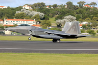 USAF 3 WG Lockheed F-22A 06-4129/AK at Lajes (2013)