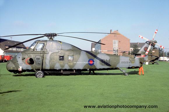 The Aviation Photo Company: Latest Additions &emdash; RAF 18 Squadron Westland Wessex HC.2 XR509/BM