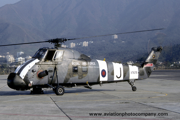 The Aviation Photo Company: Latest Additions &emdash; RAF 28 Squadron Westland Wessex HC.2 XT675/J (1986)