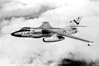 USAF Douglas RB-66C Destroyer 55-0387 Air to Air