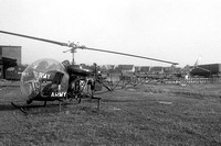 US Army USAREUR Bell OH-13H Sioux 52-7907