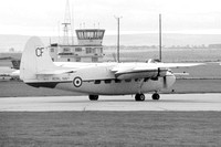 Royal Navy Hunting Sea Prince C.1 WM739 at RNAS Lossiemouth (1970)